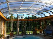 Abrisud Schwimmbadüberdachung Poolüberdachung Poolhalle