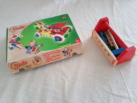 Holzspielzeug - Baufix Starter Set Werkzeugkasten