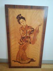 Intarsie Geisha