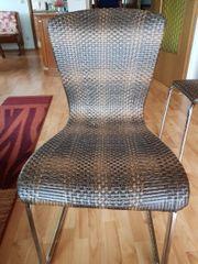 4x Garten Stühle