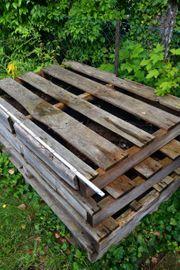 Holzpaletten 4 Stück