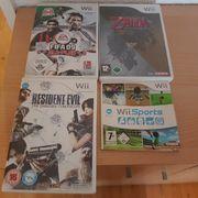 Wii Sports Fifa 09 Zelda
