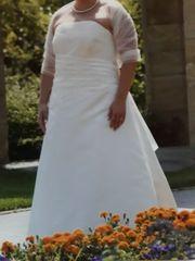 Brautkleid - Hochzeitskleid - Größe 46 - creme