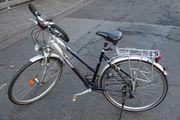 Raleigh Sacramento Damen Citybike Silber