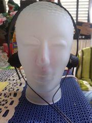 Glaskopf für Kopfhörer