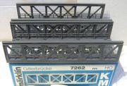Märklin H0 2x Gitterbrücke 7262