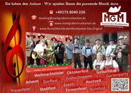 Livemusik mit den MarkGrafen Musikanten: Kleinanzeigen aus Storkow - Rubrik Auftrittsgesuche, Coaching
