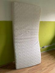 Kinderbett Hochbett Vollholz massiv weiß