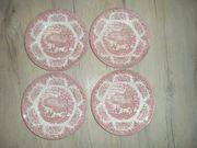 Schöner alte Sammelteller englische Keramik
