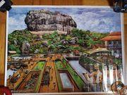 Poster Sigiriya Rock Sri Lanka