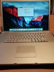 MacBook pro 17 Zoll silber