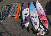 Großes Surfset 3 Boards 4