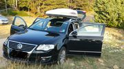 TOP-VW Passat-3C Variant-Highline-Leder-Alu-Bluemotion-Schwarz