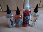 e-zigarette liquids frisch angemischt
