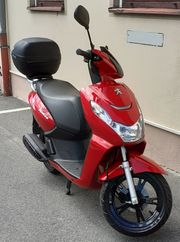 Kisbee 4T Cherry Red 50ccm
