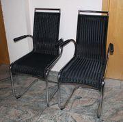 2x moderne Küchenstühle Tecta Design