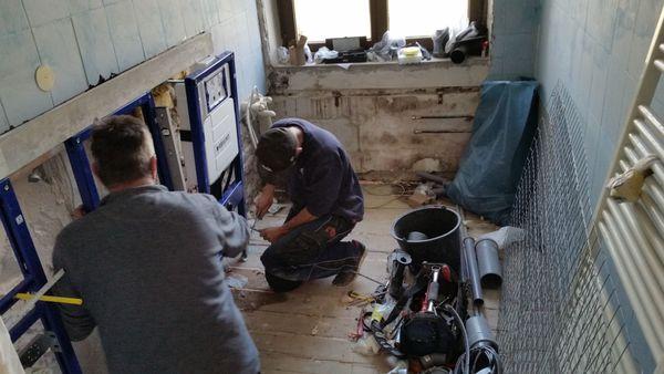 Renovierung - Trockenbau - Badsanierung vom Fachbetrieb
