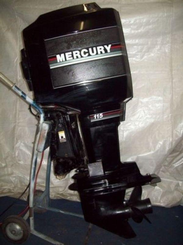 115 PS Mercury 2-Takt Außenbordmotor