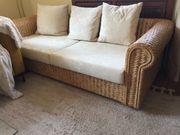Designer Couch Sofa mit Recamiere