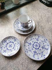 Porzellan - Teile Ingres Weiss