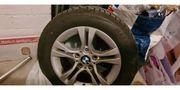 BMW Alufelgen mit winterreifen