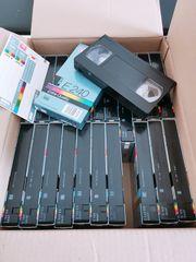 Videocassetten BASF E180 E240 chromdioxid