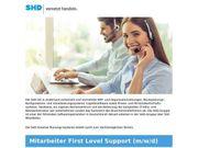 Mitarbeiter First Level Support m