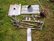 Dachständer mit Anker-Schellen-Rohr und Abdeckung