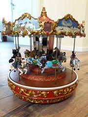 Vintage Triple Decker Carousel von