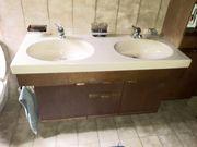 Badverbau komplett zu verschenken