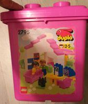 Lego duplo 2795 Mädchen Eimer