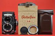 Rolleiflex 2 8 F-White Face