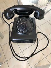 Telefon W48 schwarz