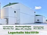 Gebrauchte Stahlhalle Lagerhallen aus Rückbau