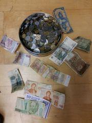 Große menge an Münzen und