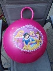 Pinker Hüpfball Disney Prinzessinnen zvk