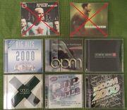 6 Musik CD s - verschieden