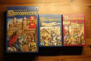 Carcassonne mit erster und zweiter