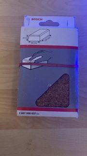 Handschleifklotz Bosch 120x80 mm Kork