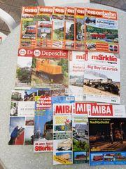 Habe verschiedene Eisenbahn Hefte