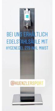 Hygienespender Edelstahl inkl Gel