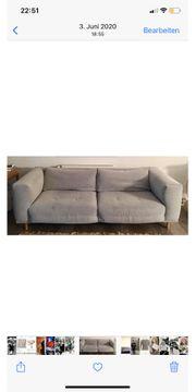 Couch- 2 5Sitzer Stoff mit
