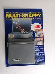 Abfallbehälter Snappy Grau OVP