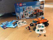 Arktis Erkundungstruck Lego Set Nummer