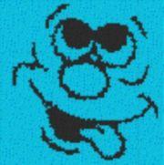 Vorlage für Ministeck Smiley11 40x40cm