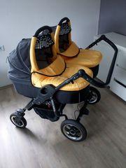 Zwillings Kinderwagen