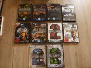 PC-CD-ROM Spiele 28 Stück