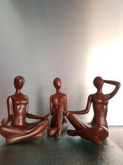 Skulptur dreiteilig