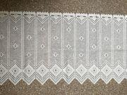Vorhang Gardine in weiß Kurzgardine