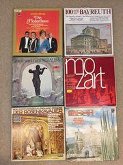 Schallplatten Sammlung Klassik Vinyl LPs